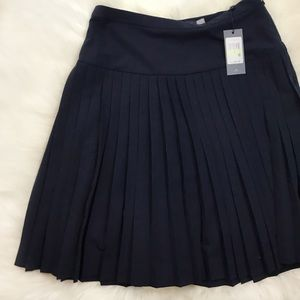 NWT Tommy Hilfiger Navy Blue Skirt Knee Length 5